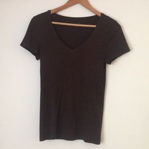 J.Crew Fitted Tee Brown T-shirt